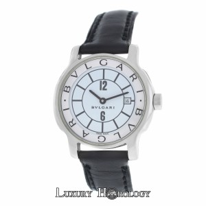 BVLGARI Authentic Ladies Bvlgari Bulgari Solotempo ST29S Stainless Steel