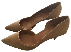 J Crew Factory D'Orsay Nude Pumps Nude Pumps