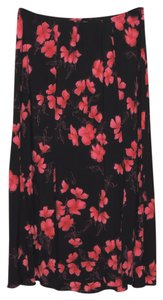 Venezia by Lane Bryant Skirt Black & Pink