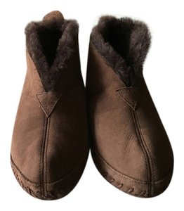 L.L.Bean House Slippers Brown Boots