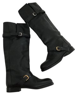 Chloé Leather Black Boots