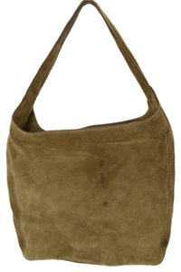 Michael Kors Suede Leather Desert Hobo Bag