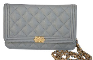Chanel Caviar Woc Wallet On A Chain Gold Hardware Cross Body Bag