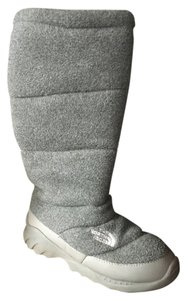 The North Face Warm Winter Grey Boots