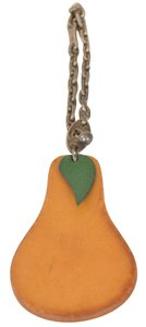 Hermès Pear Fruit Shaped Leather La France Keychain Key Chain Keyring Holder