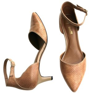 Clarks Collection Light Brown/Taupe Pumps