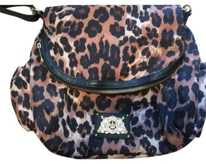 Juicy Couture Cheetah Diaper Bag