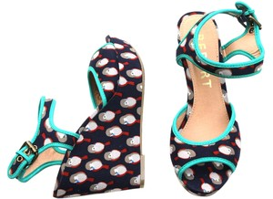 REPORT Wedges Womens Multicolored Sandals