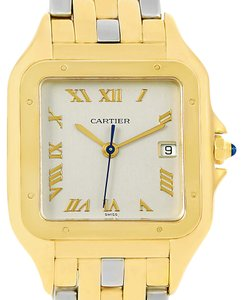 Cartier Cartier Panthere Jumbo Steel 18K Yellow Gold Special Edition Watch
