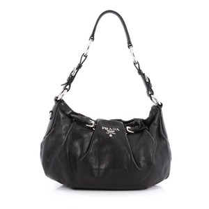 Prada Calfskin Hobo Bag