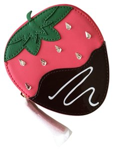 Kate Spade strawberry coin purse
