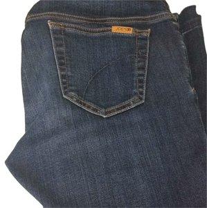 JOE'S The Icon Flare Mid-Rise Maternity Flare Denim with Raw Edges