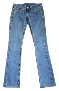 True Religion Made In The Us Usa Like New Small Flare Straight Leg Jeans