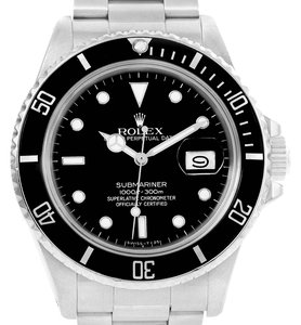 Rolex Rolex Submariner Date Stainless Steel Mens Vintage Watch 168000