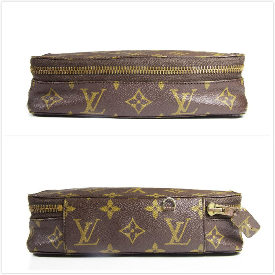louis vuitton monogram vintage monte carlo jewelry case with lock and keys cosmetic bag tradesy. Black Bedroom Furniture Sets. Home Design Ideas