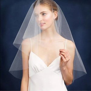 J.Crew J.crew Twigs & Honey Fingertip Bridal Veil Ivory