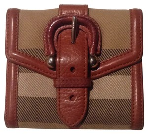Burberry Authentic Burberry House Check Compact Wallet
