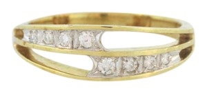 Other Antique Stacked Diamond Ring- 14k Yellow Gold