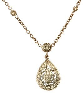 Penny Preville Penny Preville 18k white gold and diamond necklace