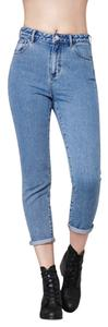 PacSun Mom Mom Boyfriend Cut Jeans-Medium Wash