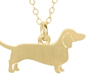 Fashion Jewelry For Everyone golden dachshund