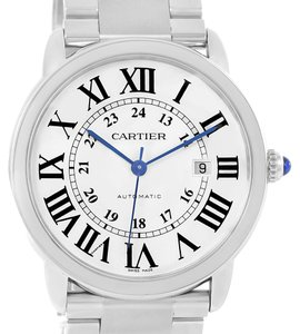 Cartier Cartier Ronde Solo Automatic Steel Mens Watch W6701011 Box Papers