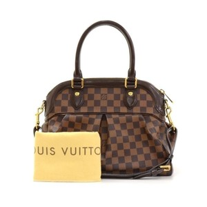 Louis Vuitton Trevi Pm Damier Ebene Shoulder Bag