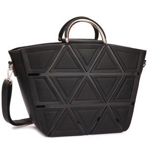 Large Tote in Black