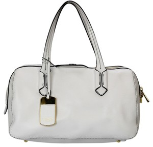Ralph Lauren Leather Satchel in White