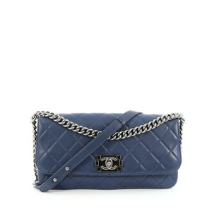 Chanel Messenger Calfskin Shoulder Bag