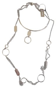 Chico's CHICO'S MARLEY 2 LAYER LONG NECKLACE NEW HARD TO FIND