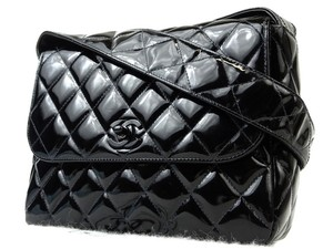 Chanel Flap Satchel Camera Quilted Shoulder Bag