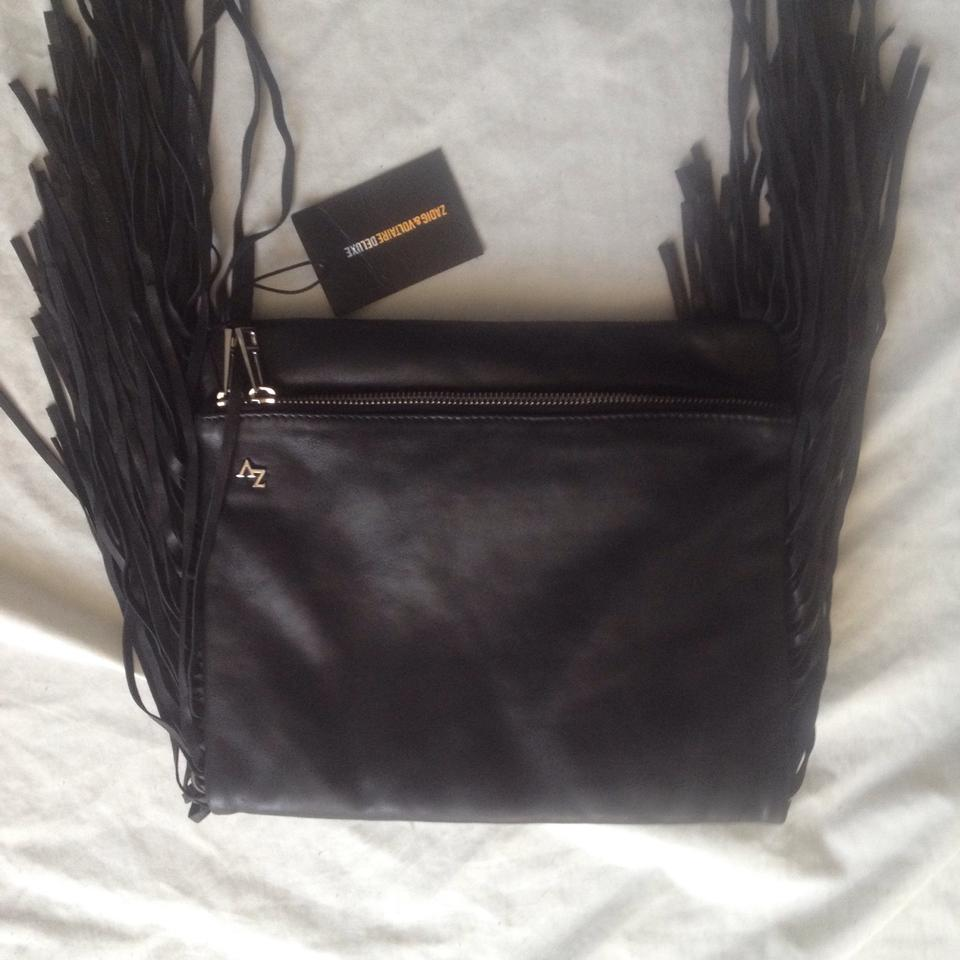 amp; Bucket Black Cross Xl Body Leather Deluxe Goat Bag Zadig Voltaire fgd6wx6T