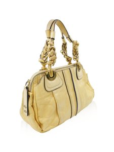 Chloé Chloe Chloe Satchel in Beige Yellow