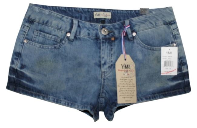 Preload https://item1.tradesy.com/images/ymi-jeans-denim-blue-new-with-tags-minishort-shorts-size-4-s-27-2036020-0-0.jpg?width=400&height=650