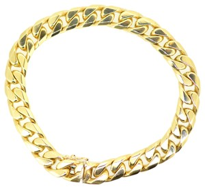 Other 9K Solid Yellow Gold Link Chain Bracelet 50.8 Grams