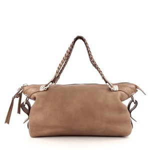 Gucci Bamboo Bar Leather Shoulder Bag