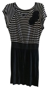 The Limited Striped Floral Office Dress