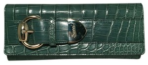 Gucci Wallet green Clutch