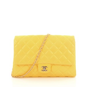 Chanel Clutch Lambskin Shoulder Bag