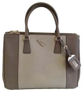 Prada Tote in Two Tone Grey