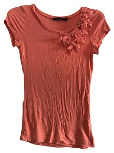 The Limited Xs Floral T Shirt Orange