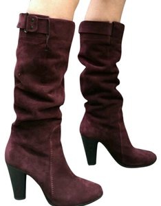 CoSTUME NATIONAL Burgandy purple Boots