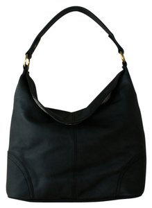Frye Shoulder Leather Foldover Hobo Bag