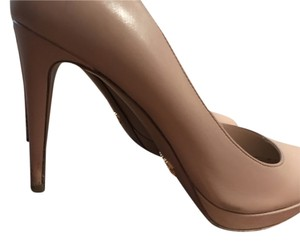 Prada Pretty Heel Formal Nude Pumps