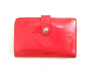 Louis Vuitton Monogram Vernis Patent Leather Vienesse Clutch Snap Wallet