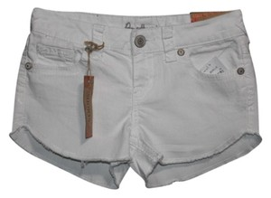 Amythest Mini/Short Shorts White