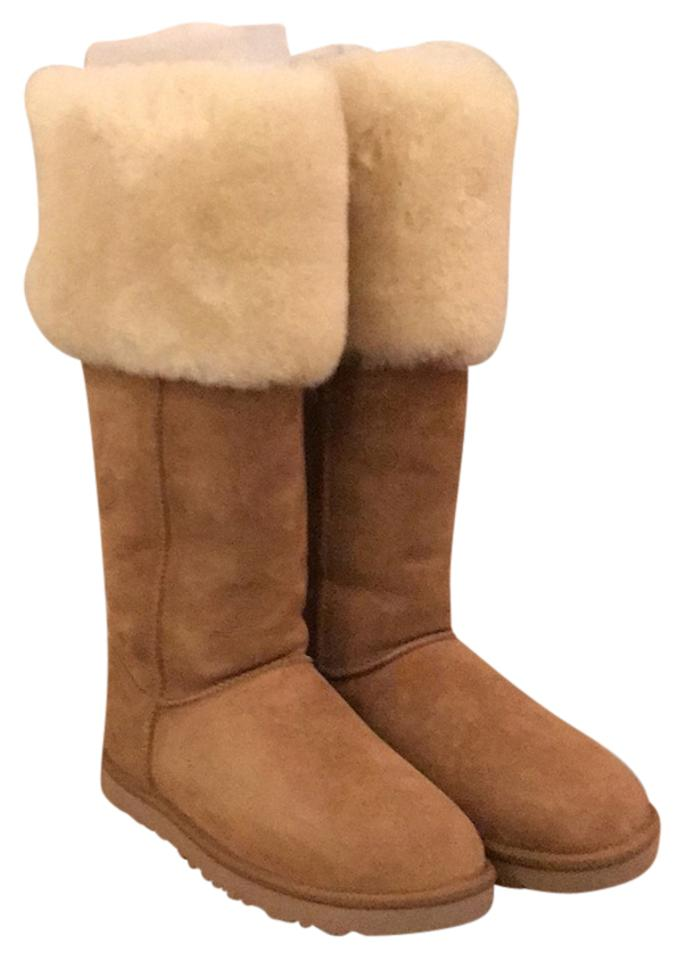 5796a1b6264 UGG Australia Chestnut Over The Knee Bailey Button Boots Booties ...