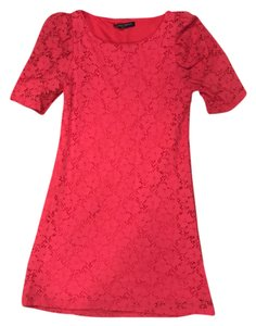 janette fashion short dress coral pink on Tradesy