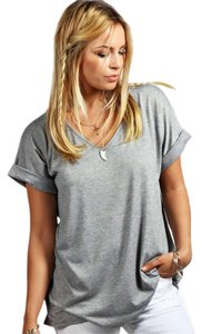 Other T Shirt Marl Grey